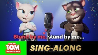 Tom and Angela - Stand By Me (Sing-Along Karaoke Version with LYRICS)