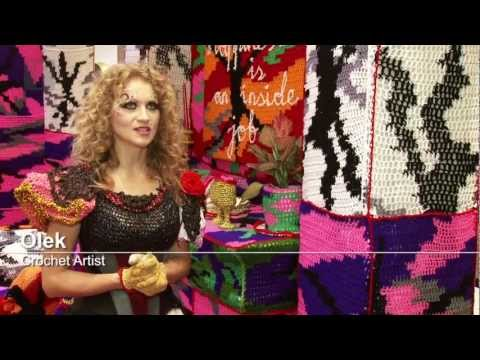 Interview: Olek, Crochet Artist