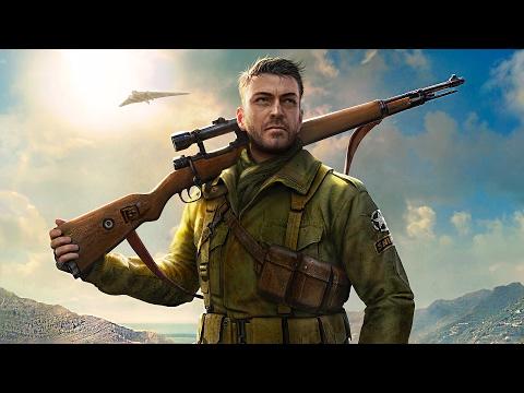 Sniper Elite 4. Pelicula completa en Español. PC Ultra 1080p 60fps