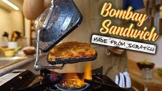 I tried recreating the popular Indian street sandwich at home बॉम्बे सैंडविच बनाने की विधि