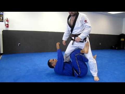 BJJ X Guard options for sweeps and submissions Image 1