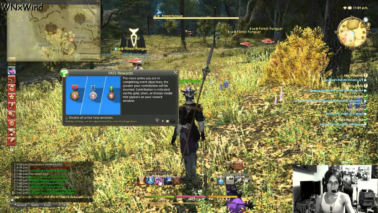 a Realm Reborn Lancer Xiv Online a Realm Reborn