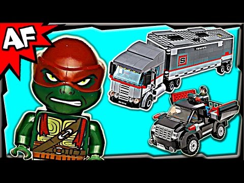 BIG RIG SNOW GETAWAY 79116 Lego TMNT Teenage Mutant Ninja Turtles Stop Motion Review