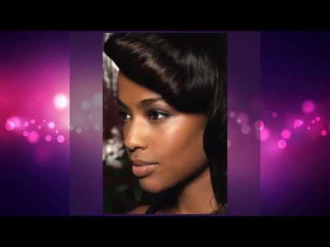 Asymmetrical Short Hairstyles For Black Women