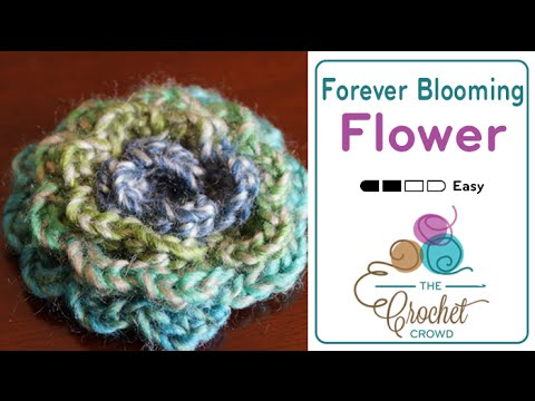Forever Blooming Crochet Flowers