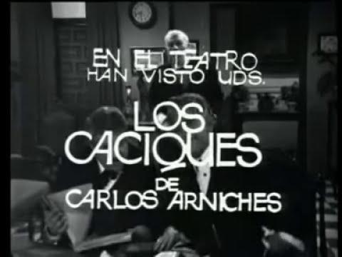 TEATRO TVE-Los Caciques-de Carlos Arniches