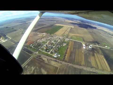 4/9/15 - Fairdale/Rochelle, IL Tornado - Aerial Damage Video - GoPro