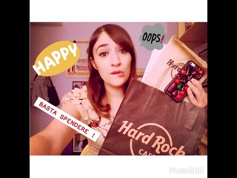Video HAUL: shopping pazzo a VENEZIA (Hard Rock Cafè, H&M, etc) !
