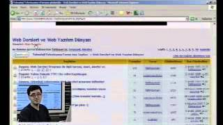 Technology Channel - Web Dersleri - Fatih Gurcan - 27. Bolum