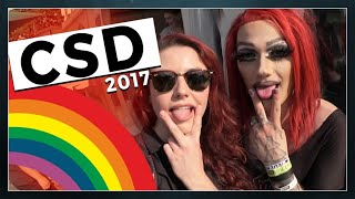 CSD - mein Christopher Street Day 2017 // follow me around - Tahnee