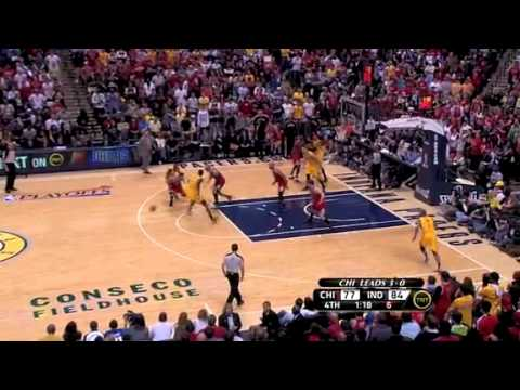 NBA Playoffs 2011: Chicago Bulls Vs Indiana Pacers Game 4 Highlights