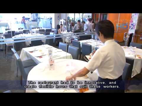 Spring Singapore to lure mature workers to work part time in retail & F&B sectors - 15Jun2013