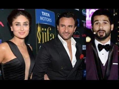 Ohh! Kareena Kapoor Surprises Ex Boyfriend Shahid Kapoor; Says Hi!!! | Hot Latest News | Iifa 2014 video