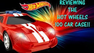 Hotwheels 100 car case