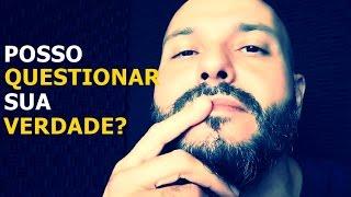 Posso questionar sua verdade? - Flavio Siqueira (Live Facebook)