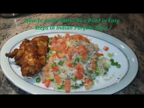 How to make Basmati Rice Pilaf   Punjabi Style Quick and easy Rice Pilau
