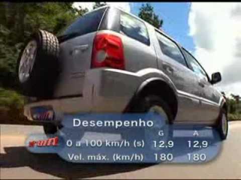 Vrum - Teste - Ford EcoSport XLT 2.0 16V automático (28/03/2010)
