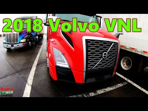 2018 Volvo VNL Truck Interior Exterior Rudi's NORTH AMERICAN ADVENTURES 03/27/18 Vlog#1385