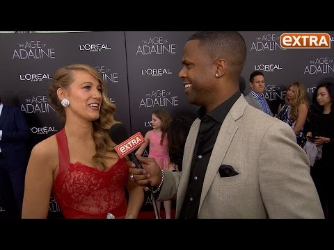 Blake Lively Talks Motherhood and Geeking Out Over Harrison Ford at 'Age of Adaline' Premiere