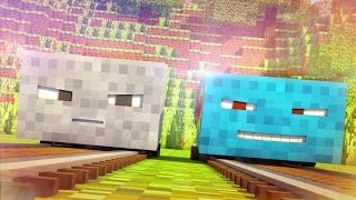 Talking Blocks: Minecarts (Minecraft Animation)