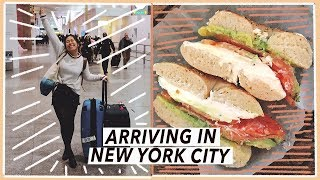 Arriving in New York City from London | NYC Travel Vlog