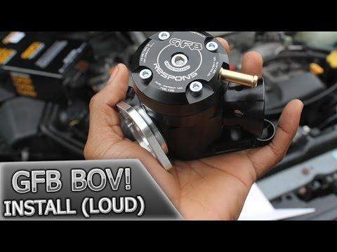Subaru Wrx  GFB Bov Install   Whistle Trumpet!!