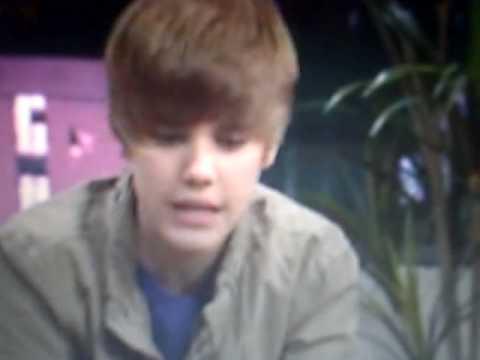 Justin Bieber live chat on QVC 3/9/10 (: