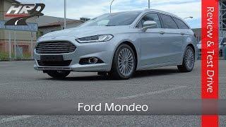 2015 Ford Mondeo Wagon TDCi Test drive & Review - Prova su strada nuova Ford Mondeo