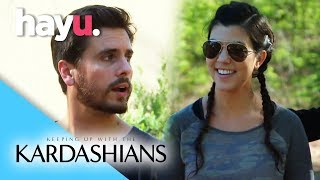 Scott Helps Kourtney Open Up | Keeping Up With The Kardashians