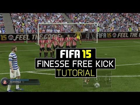 FIFA 15 Finesse Free Kick Tutorial
