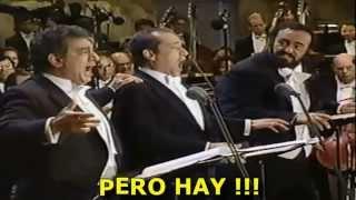 Los 3 Tenores O Sole Mio Subtitulada Español Los Ángeles 1994