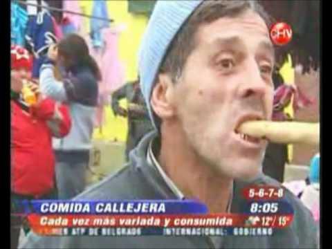 La comida callejera en Chile