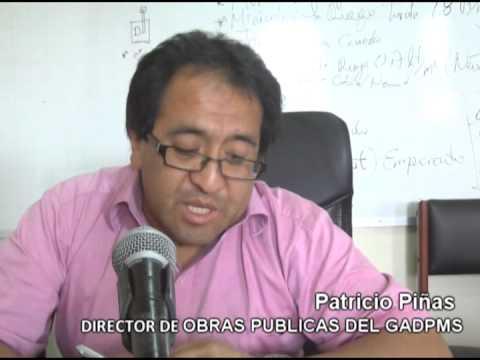 Primera fase de las calles del Barrio Norte en Sucúa estarán listas para Diciembre