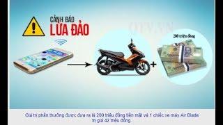 Giả danh cán bộ Ngân hàng Vietcombank báo trúng thưởng để lừa đảo