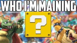 Characters I Plan To Main - Super Smash Bros Ultimate
