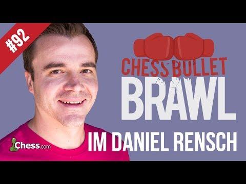 IM DanielRensch vs. IM manubibi: Bullet Brawls Chess #92
