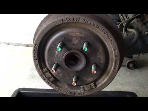 Drum Brakes a Quick Look - EricTheCarGuy