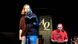 """Mark Fleury reading """"I Decided (Title Not Decision)"""" at AQ, Mar 19 2012"""
