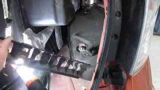 2008 ford edge rear shock removal and installation