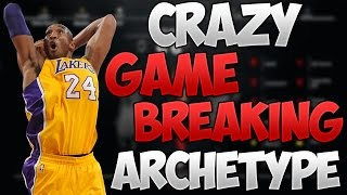 NBA 2K17 CRAZY GAME BREAKING ARCHETYPE AFTER PATCH 11! YOU WON'T BELIEVE IT!! | PeterMc