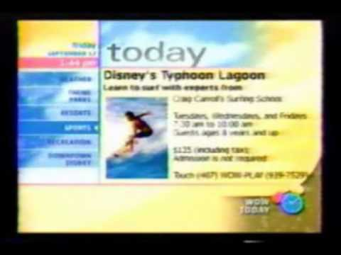 WDW Today Walt Disney World Resort TV part 3