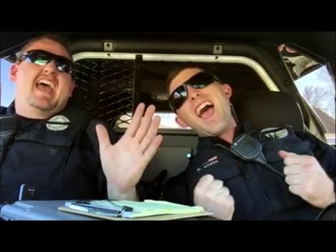Cops Lip Syncing Journey's 'Don't Stop Believin' Will Make Your Day