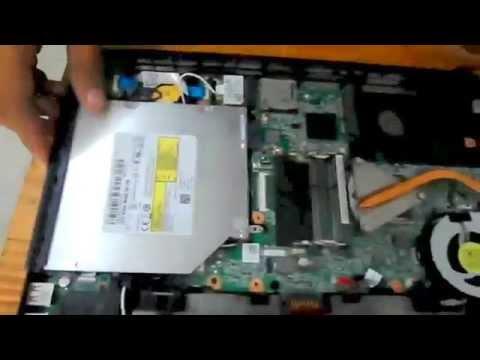 Mantenimiento preventivo de una Laptop Dell Inspiron N4050 (DESARMAR)