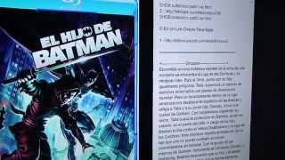 EL HIJO DE BATMAN - [2014] [Audio Latino] [BRrip] [2 Link] [BITSHARE] [BILLIONUPLOADS]