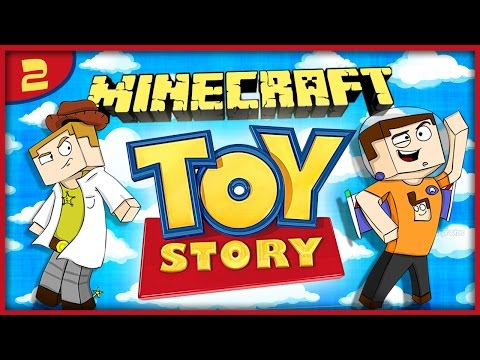 MINECRAFT - Toy Story Adventure! Part.2 w/Gejmr
