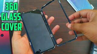 Redmi Note 7 PRO | ORIGINAL 360 MAGNET GLASS BACK COVER | MI 360 METAL GLASS BACK COVERS | MI INDIA