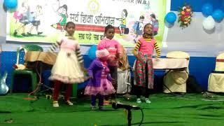 Chote Chote Chidiya Kitna Sundar usine banaya ...........kids dancing songs