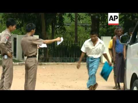 Myanmar frees 450 prisoners in amnesty