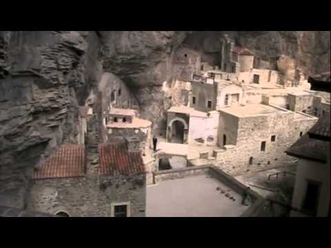 The Impressive and Remote Rock Cut Church -  Sumela Monastery, Turkey