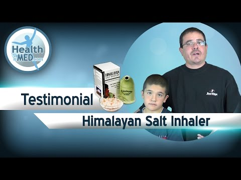 Himalayan Salt Inhaler Testimonial - It Really Works - Allergies and Asthma